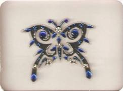 STICK ON BODY TATTOO BINDI ( STB-0016 )