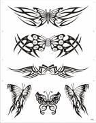 WATER BODY TRANSFER TATTOOS  ( WT-0015 )